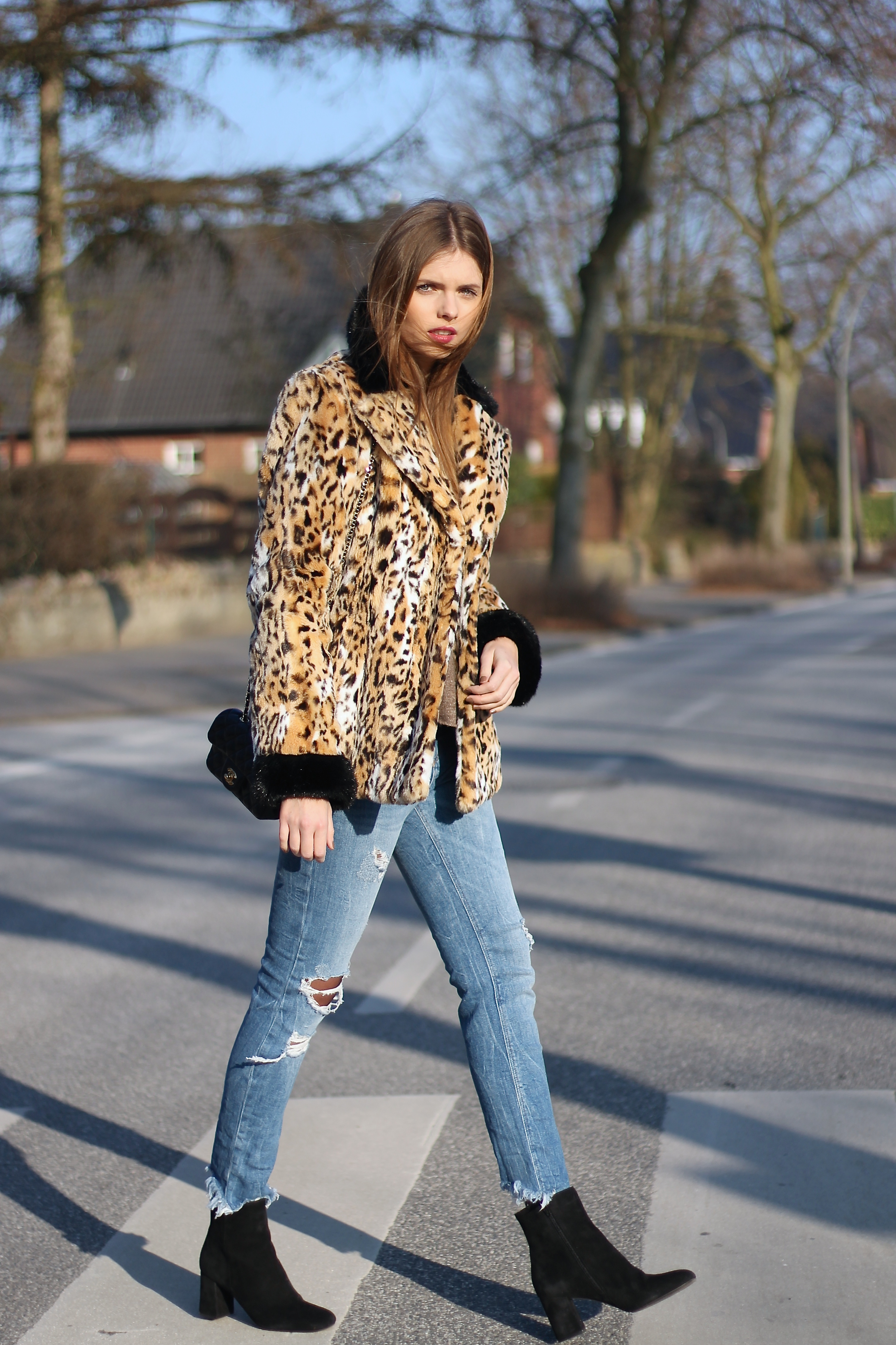 IMG 8489 - STREETSTYLE - ANIMAL PRINT COAT