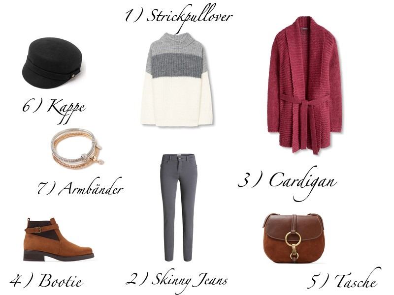 schick in strick autumn outfit inspiration glamour secret. Black Bedroom Furniture Sets. Home Design Ideas