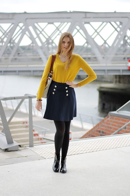 IMG 7831 - YELLOW MEETS BLUE - TOMMY HILFIGER