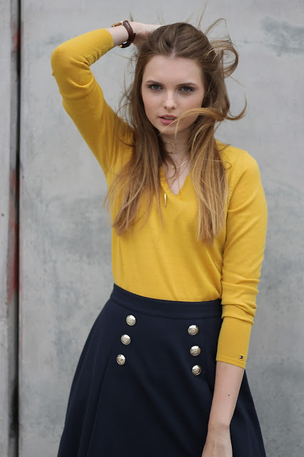 IMG 7972 - YELLOW MEETS BLUE - TOMMY HILFIGER