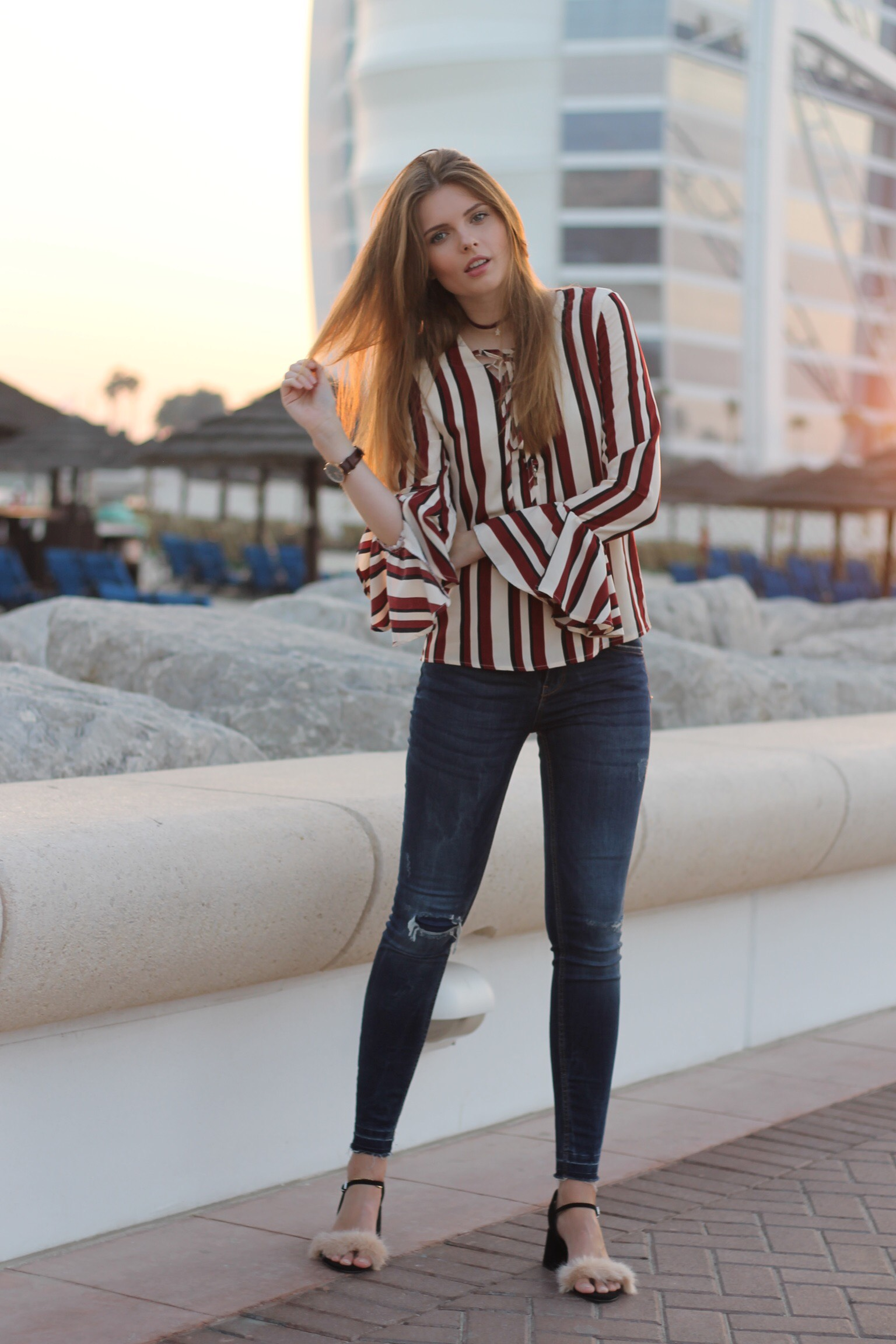 file15 Kopie - STRIPED BLOUSE OUTFIT IN DUBAI