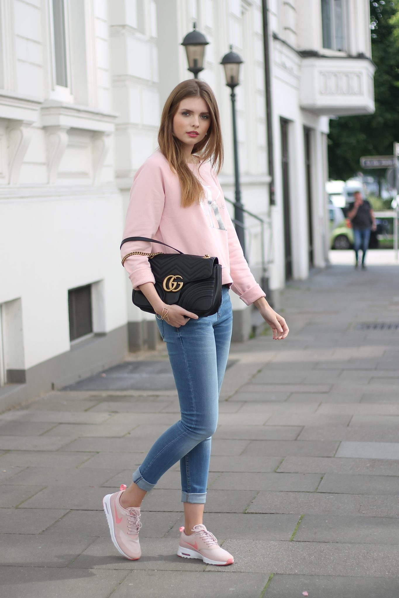 IMG 7737 - CASUAL STREET STYLE I CALVIN KLEIN x GUCCI MARMONT BAG
