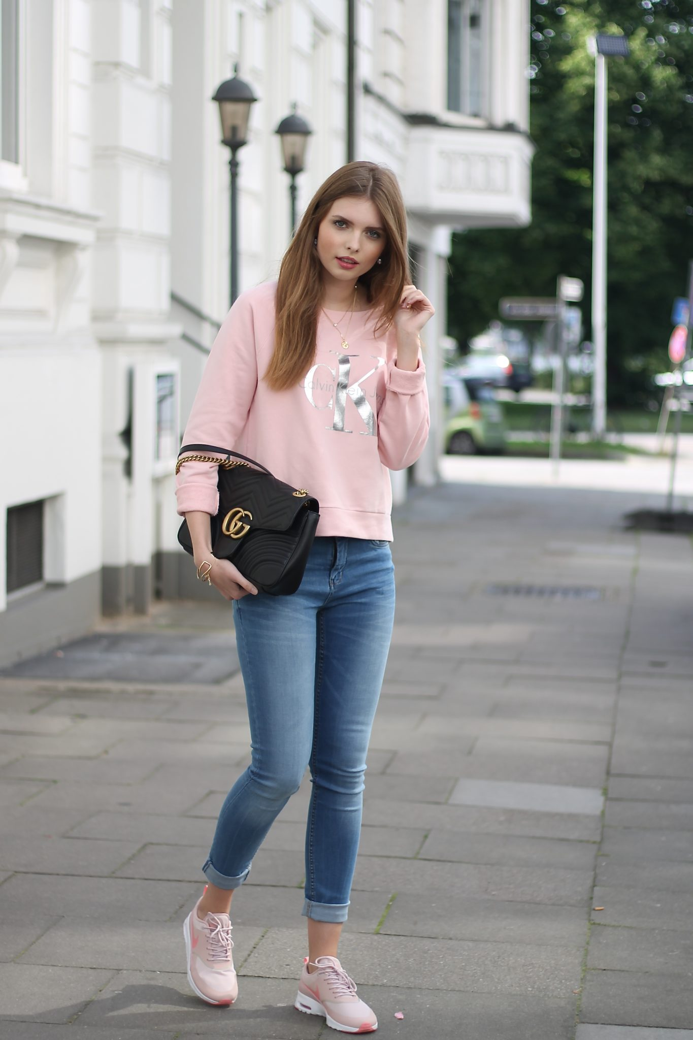 IMG 7746 - CASUAL STREET STYLE I CALVIN KLEIN x GUCCI MARMONT BAG