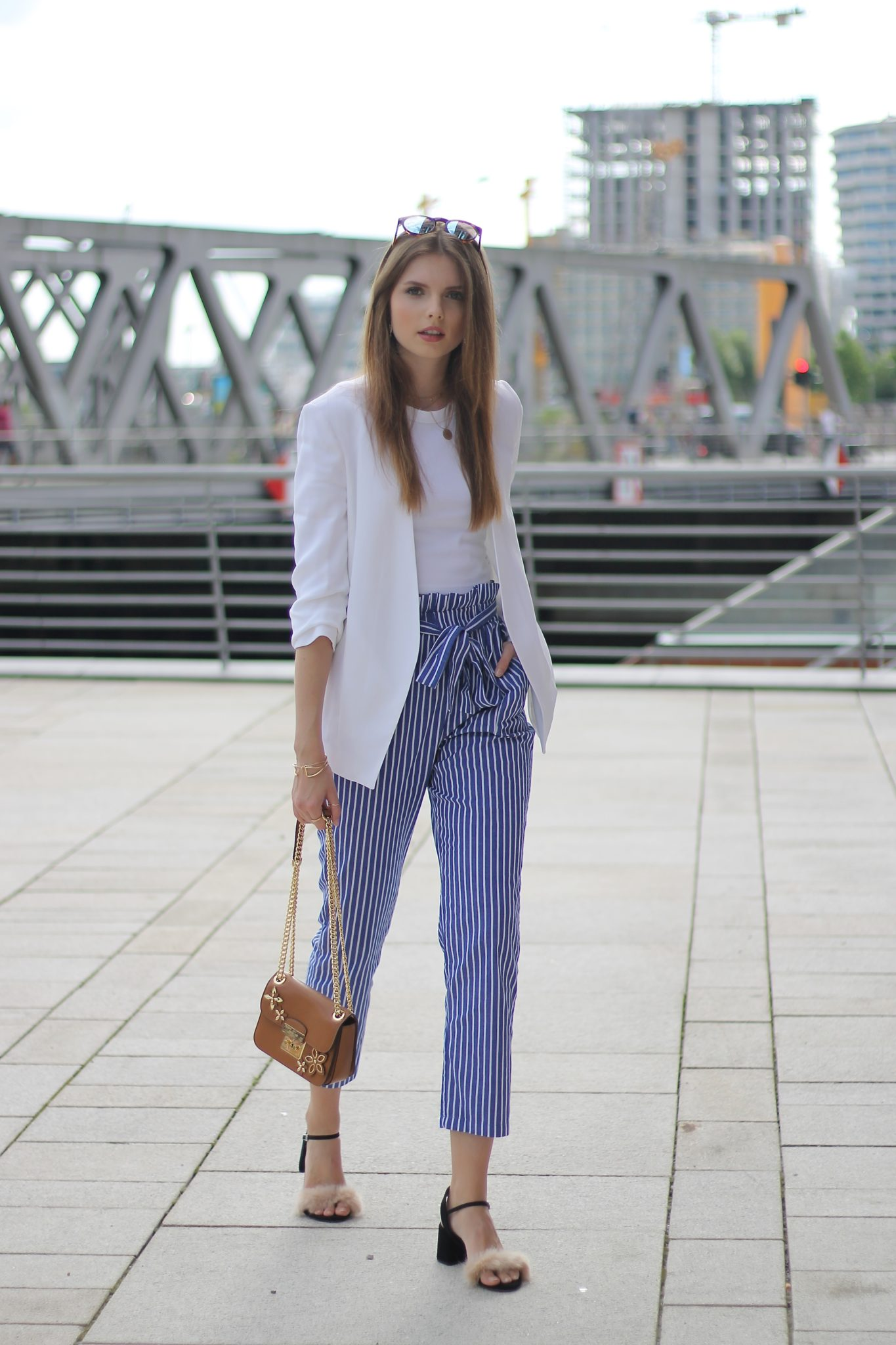 IMG 8233 - CASUAL STRIPED PANTS I HAMBURG STREETSTYLE