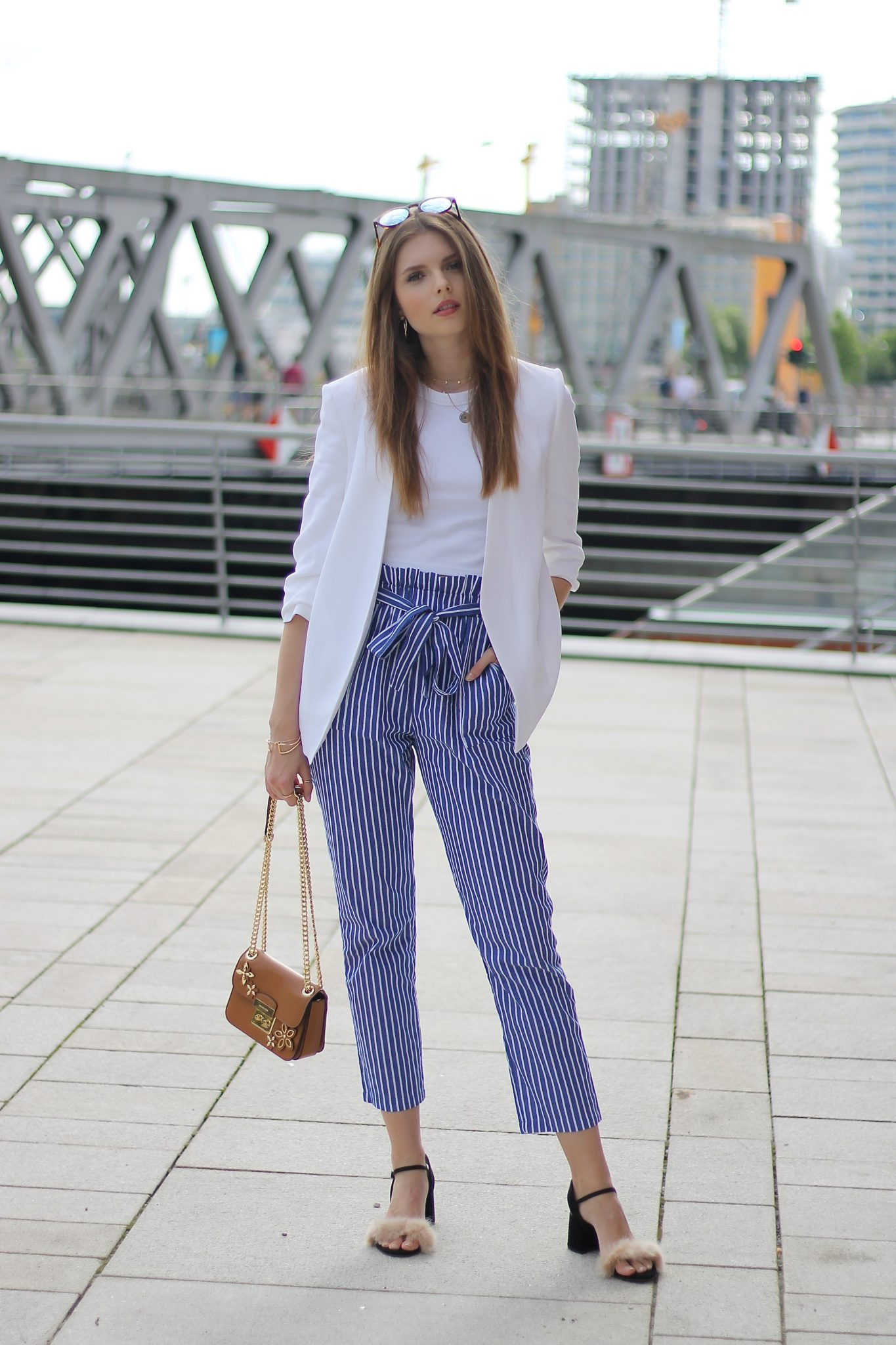 IMG 8237 2 - CASUAL STRIPED PANTS I HAMBURG STREETSTYLE