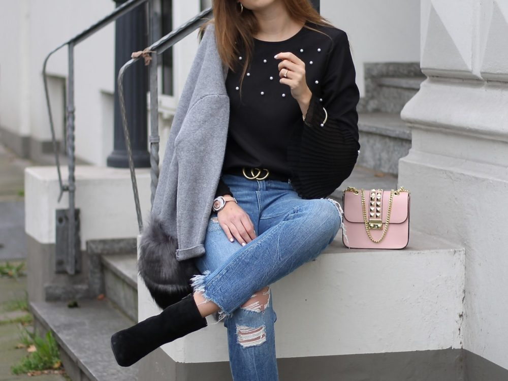 iDeal OF SWEDEN CASE & FUR CARDIGAN